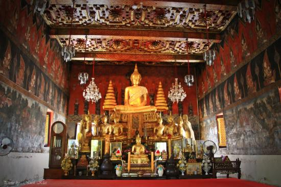 Ayutthaya Province, ไทย: Ordination hall - Wat Suwandanawas