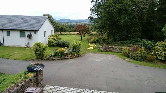 View from room, Blairbeg Lodge, Killearn