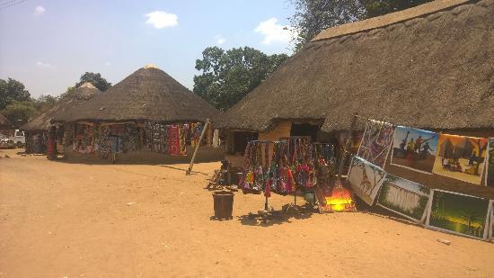 One part of Kabwata Cultural Village