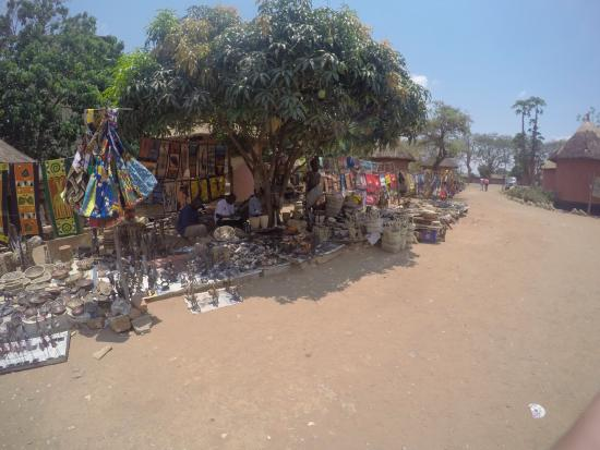 Kabwata Cultural Village: Some of the stalls