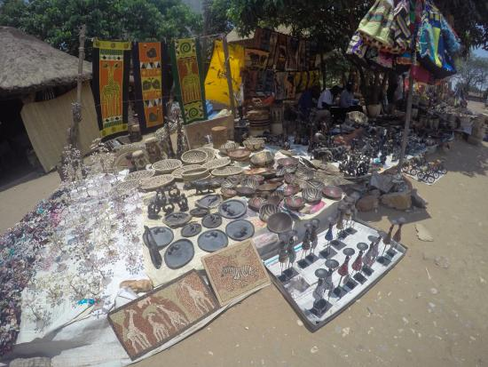 Kabwata Cultural Village: Some of the things on sale