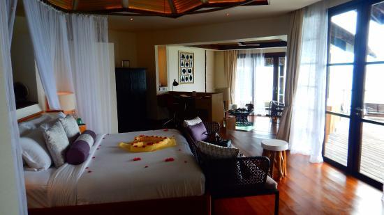 Jumeirah Vittaveli: Water Villa Rooms