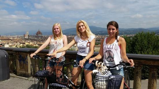 Tour in Florence: Bike tour with Piazzale Michelangelo