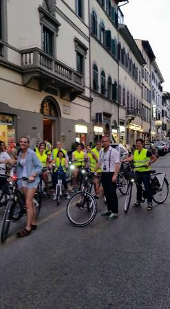 Tour in Florence: Bike tour by night