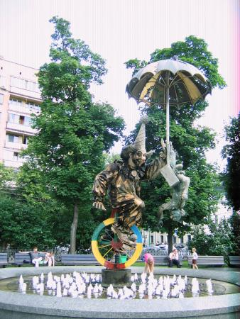 Monument-Fountain Clown