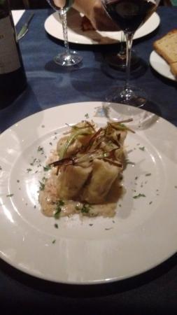 Restaurant Bodegas de Arnes: Canneloni met foie gras