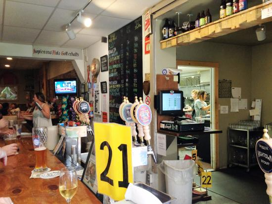 Berwick (LA) United States  city photos gallery : Cool clock Foto di Berwick Brewing, Berwick TripAdvisor