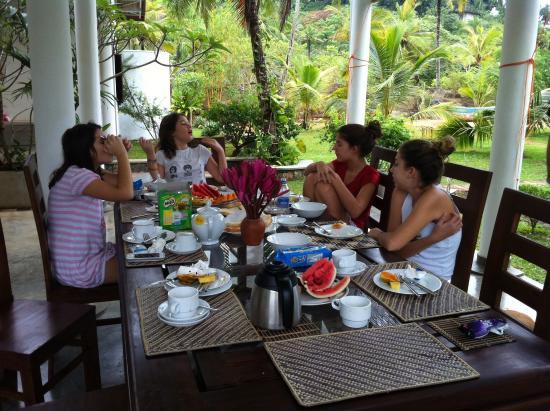 Villa Mangrove: Nice break fast