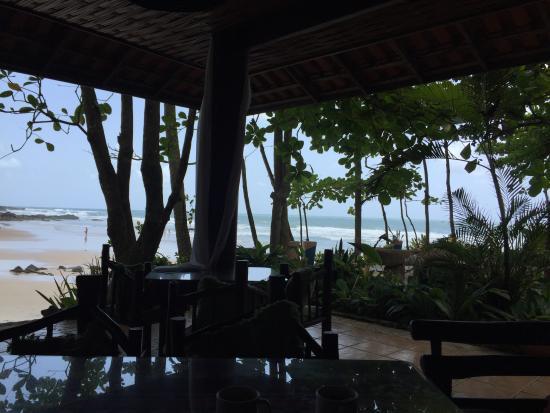 Pousada Sage Point: café da manhã com essa vista maravilhosa