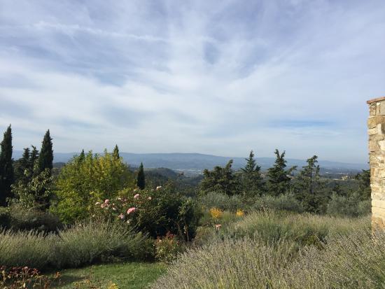 Antico Podere Marciano: Vista panoramica