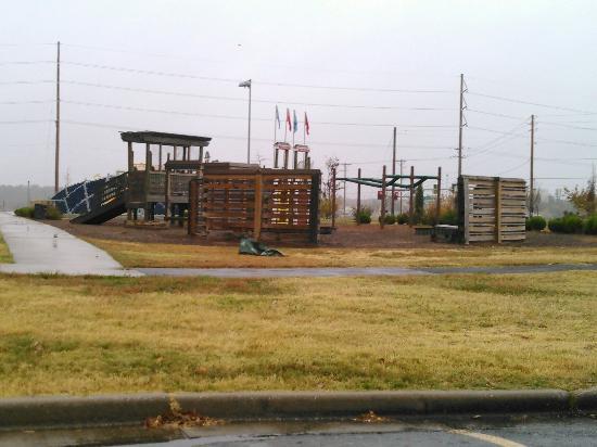 Pool With Slide And Gazebo At Cunningham Park Joplin