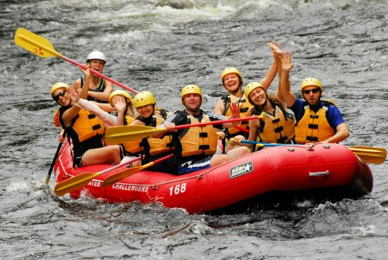North River, NY: Family Whitewater Rafting for Ages 8+ in Summer and Fall
