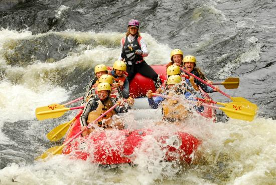 North River, NY: Whitewater Rafting on the Hudson River