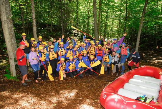 North River, NY: Group Photo in the Great Outdoors of NY