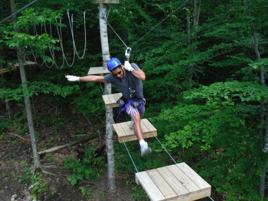 North River, NY: Zipline and Ropes Course at the Hudson River Adventure Center