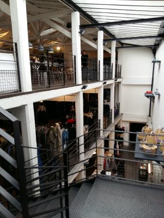 A 3-floor concept store selling clothes, stationery and furniture ...