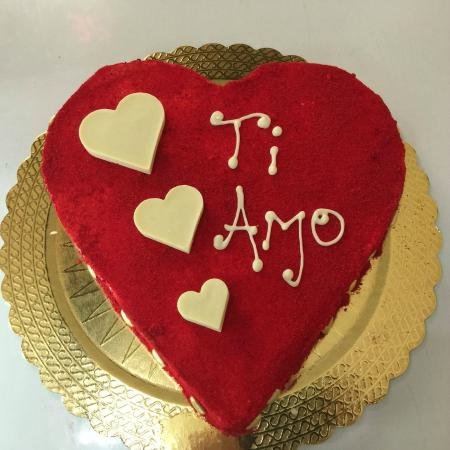 La Bottega del Gelato torta gelato per San Valentino