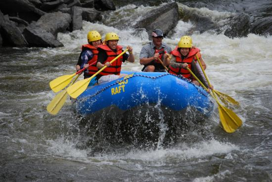Dexter, NY: Whitewater Rafting on the Black River