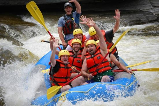 Dexter, Нью-Йорк: Guided White Water Rafting on the Black River