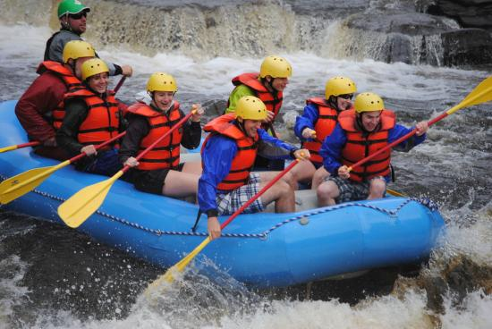 Dexter, estado de Nueva York: Rafting the Black River