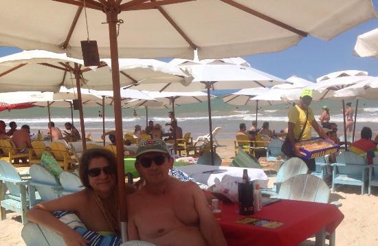Trancoso, BA: Praia movimentada...
