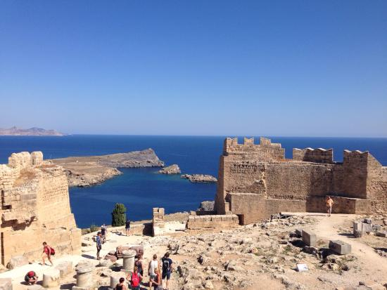 photo1.jpg - Picture of Acropolis of Lindos, Lindos ...