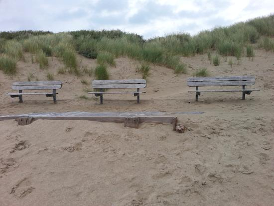 Pembrey, UK: Peaceful beach