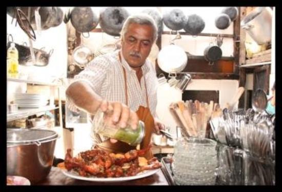 Cafe Tostado: Don Pepe en plena labor