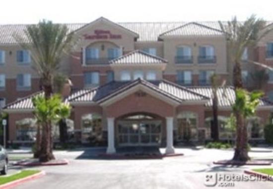 2 Queen Suite Picture Of Hilton Garden Inn Las Vegas Strip South Las Vegas Tripadvisor