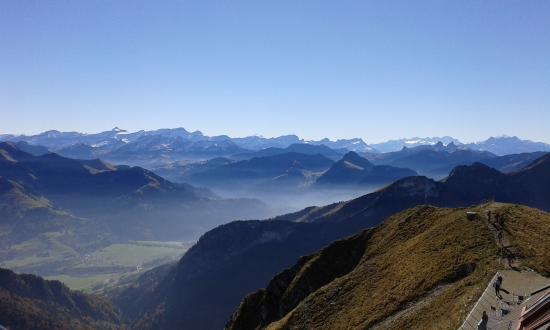 Moleson, Ελβετία: Panorama
