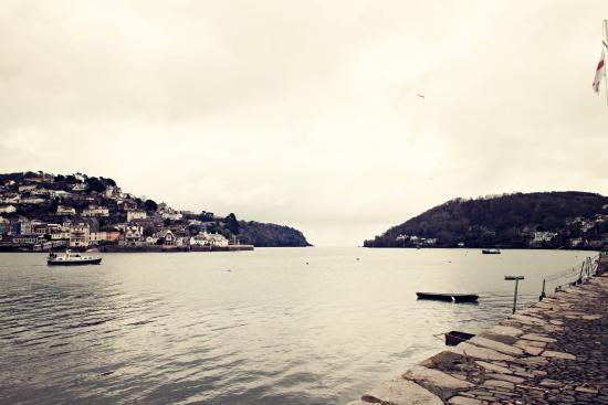 Bayards Cove Inn Restaurant Dartmouth: The view