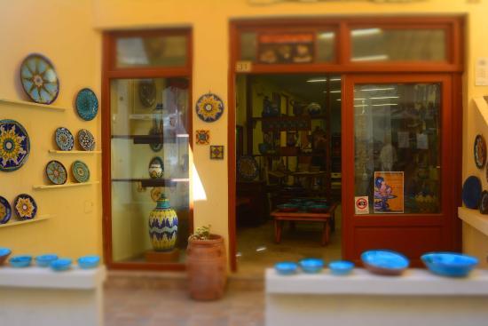 Rethymnon Prefecture, Grecia: Workshop exterior