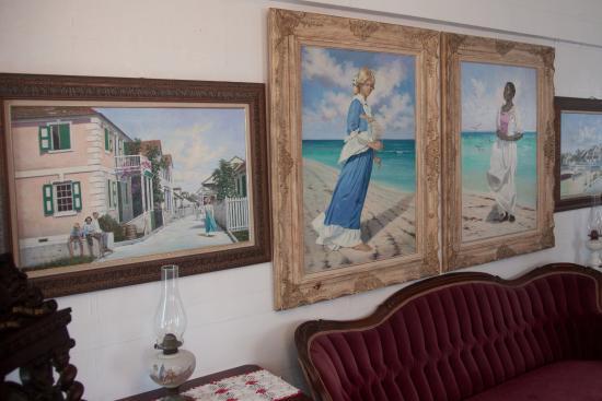 Albert Lowe Museum: Paintings.