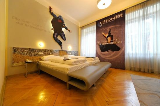Erlebnis Post Stadthotel -  Hotel mit EigenART: Business Lindner Zimmer