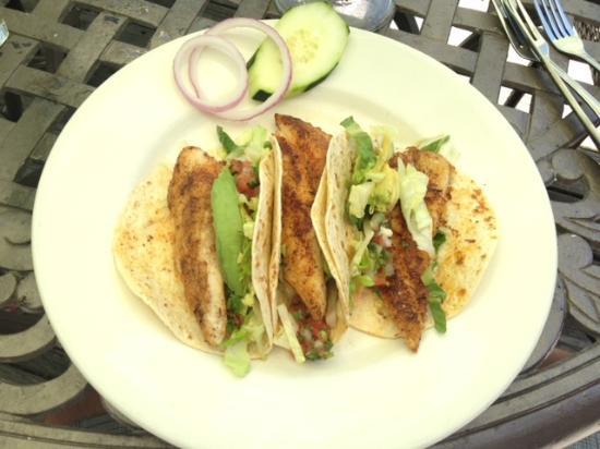 The M & M Restaurant and Bar: M & M Redfish Tacos