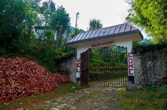 Uttarey, India: Main Gate of the Resort