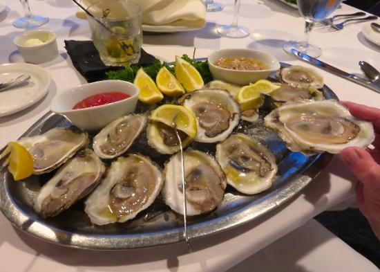 Lavender: Fresh oysters