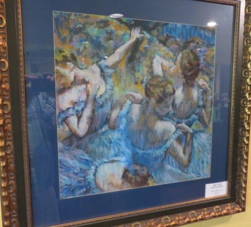 Lavender: French impressionist paintings on display - Degas