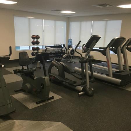 Hanna, Canadá: Fitness Center