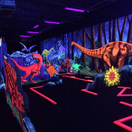 D&D Blacklight Mini Golf