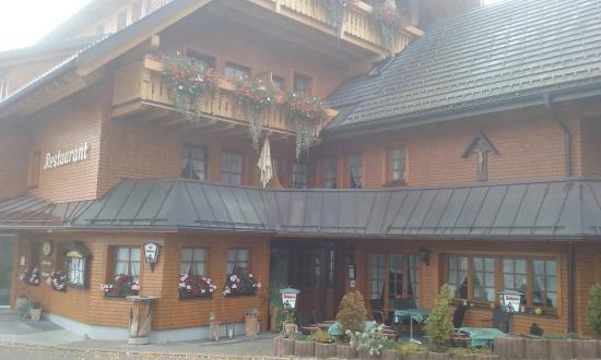 Gasthof Schwarzwaldhaus : façade