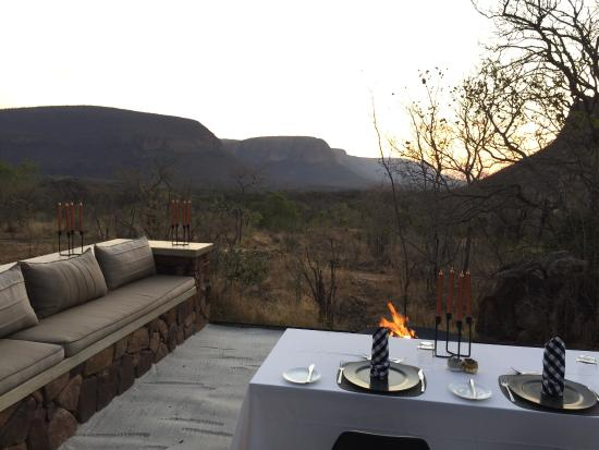 Dining Under The Stars Picture Of Marataba Trails Lodge Waterberg TripAd