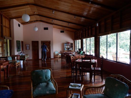 Wildsumaco Lodge: restaurant area at Wildsumaco