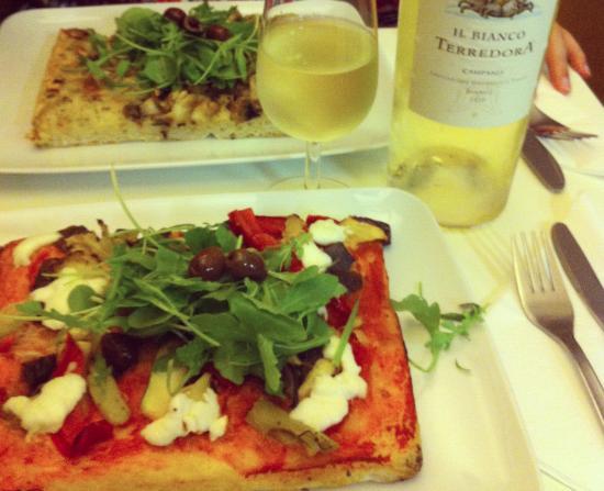 40/60 : Uma seleção de pizza