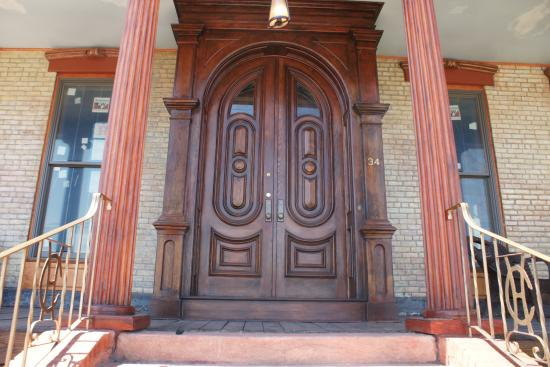 Haverstraw, NY: Casa Hudson's Original Doors and Columns