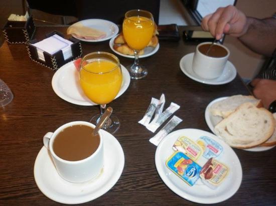 Baron del 1000: Desayuno