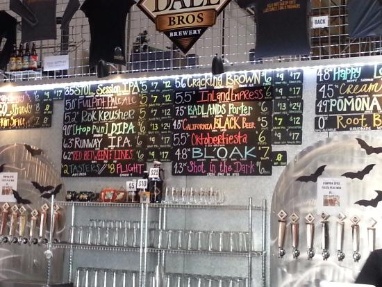 Upland, Kalifornien: Beer Board