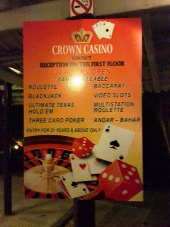 Crown Casino: Photography not allowed :) in casino