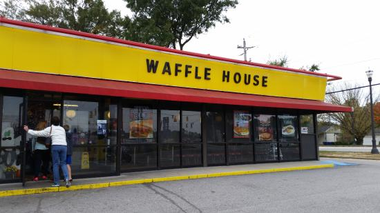 Benson, Carolina del Norte: Welcome to the Waffle House