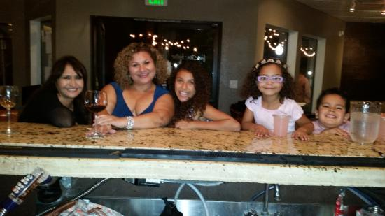 Five Ten Bistro: Five and Ten Bistro has great Wine and delish Lemonade for the lil ones.